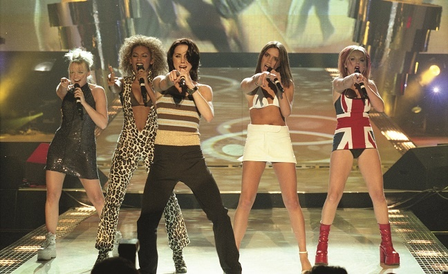 BRITs hits: Spice Girls in 1997