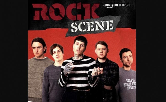 Amazon Music on backing the 'raw energy of the rock scene'