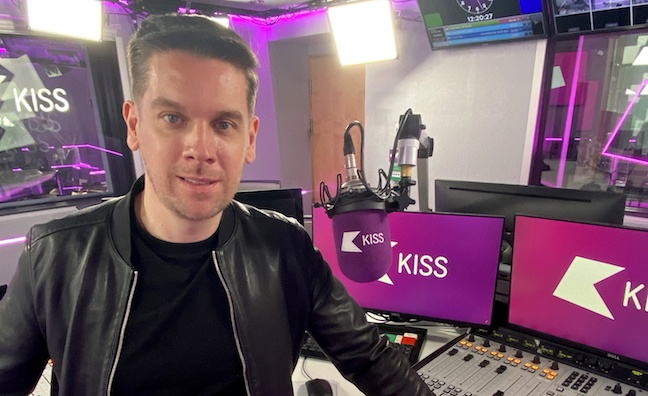 Kiss signs up DJ and producer Anton Powers