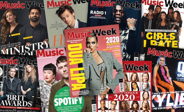 A message from Music Week