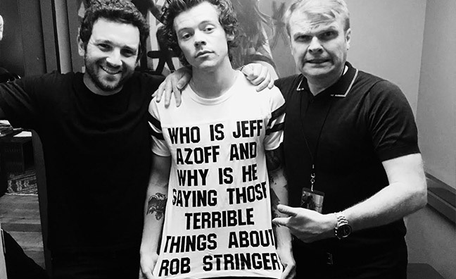 'Pop music can be formulaic. Harry just isn't': Rob Stringer on working with Harry Styles
