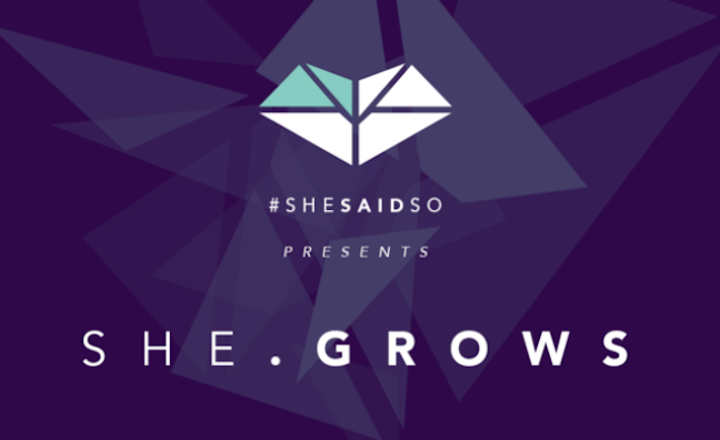 Shesaid.so launches music industry mentoring scheme, She.grows