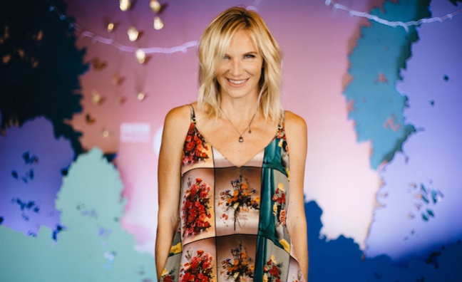 Jo Whiley to host Music Week Awards 2019