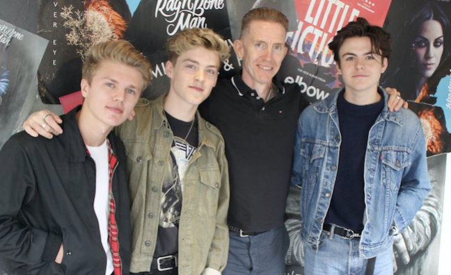 'They're pushing boundaries': New Hope Club sign publishing deal with Warner/Chappell
