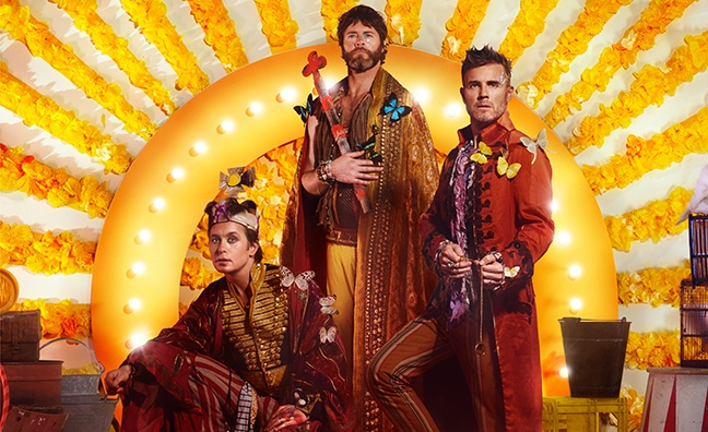Take That to headline Hits Radio gig in Manchester