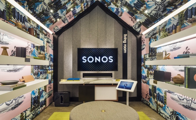 Sonos files for IPO