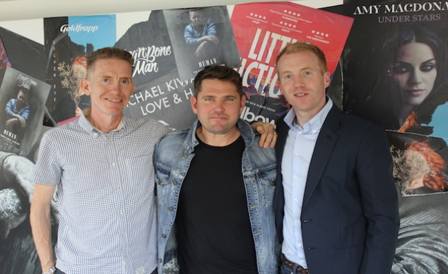'One of the top British pop songwriters is joining the family': Roy Stride signs global deal with Warner/Chappell