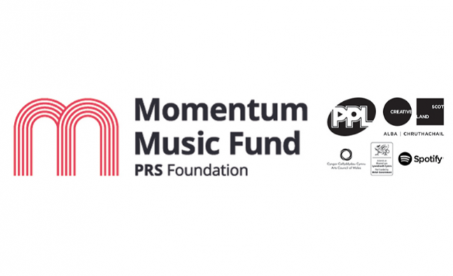 Latest acts to receive Music Momentum Fund support revealed