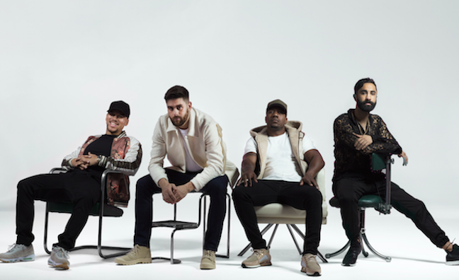 Rudimental overtake Drake in early singles chart running