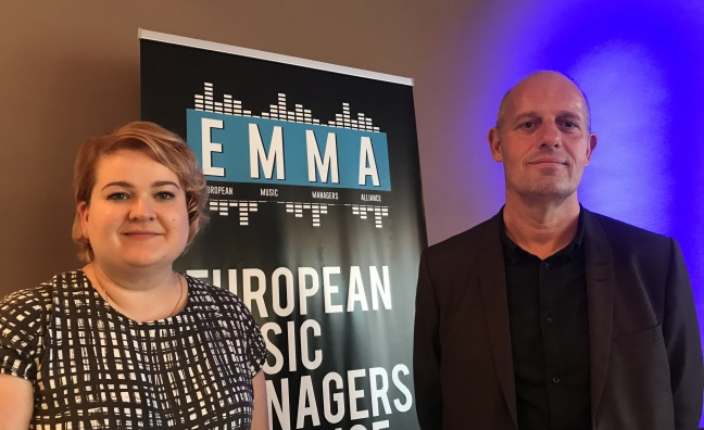 Music manager body EMMA elects first chair