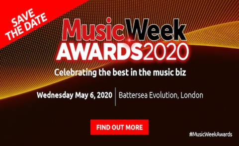Save the date: Music Week Awards set to return on May 6, 2020