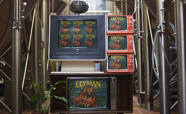 Def Leppard and Elysian Brewing Company partner for new craft beer, Def Leppard Pale