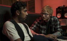 Actor Himesh Patel with Ed Sheeran