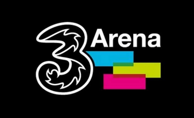 Three Ireland agrees new £48m sponsorship deal with Dublin's 3Arena