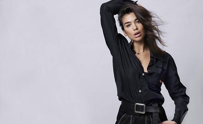 Dua Lipa maintains top spot in European Border Breakers chart