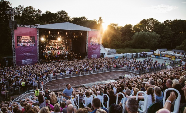 Live Nation agrees new 10-year deal for Scarborough Open Air Theatre