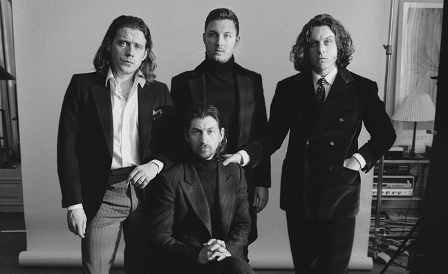 Arctic Monkeys close in on 70,000 sales for Tranquility Base Hotel & Casino