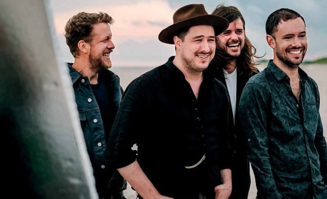 Mumford & Sons announce huge global arena tour