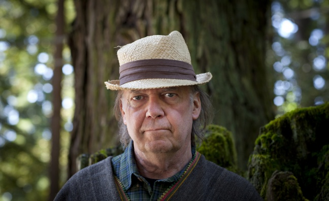 Neil Young launches app and membership service